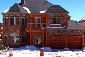 Rental exterior at Big Bear Cool Cabins.