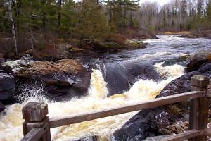 Waterfall at Kabetogama Lake Association.