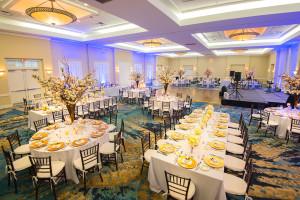 Wedding reception at Hawks Cay Resort.