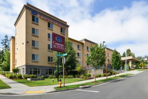 Exterior View of Comfort Suites Eugene