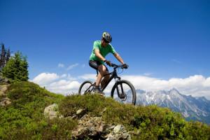 Biking at Alta Chalets.