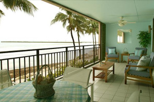 Deck view at Rent Key West Vacations.