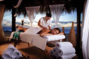Spa massage at  Los Cabos Resort.
