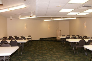 Conference room at The Dunes Condominiums.