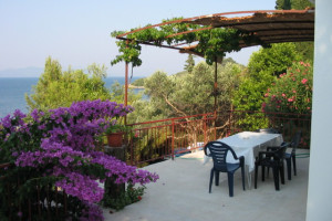 Patio at Adriatic Villas.