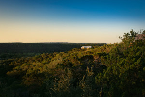 Beautiful landscape at Travaasa Austin.