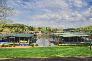 Lake view at Old Kinderhook Resort & Golf Club.