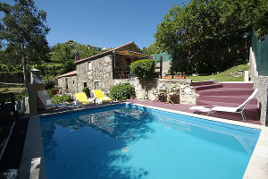 Cottage outdoor pool at Villas and Cottages.