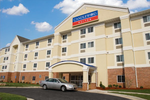 Exterior view of Candlewood Suites Springfield.