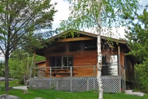Cabin at Lount Lake Lodge and outposts