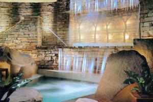 The spa at The Lodge at Woodloch.