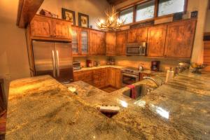 Vacation rental kitchen at SkyRun Vacation Rentals - Beaver Creek.