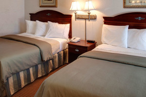 Guest Rooms at Studio City Court Yard Hotel