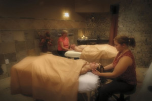 Relaxing spa at Arrowwood Resort.