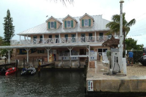 Exterior view of Big Pine Key Fishing Lodge.