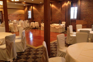 Banquet hall at Pillar and Post.