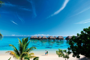 Exterior view of Sheraton Moorea Lagoon Resort & Spa.