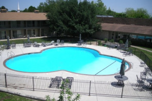 Outdoor pool at Mill Creek Inn & Golf Club.