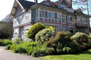 Exterior view of Dashwood Manor.