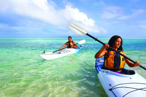 Kayaking at Oceans Edge Key West Hotel & Marina.