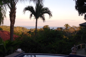 View from Nature Lodge Finca Los Caballos.