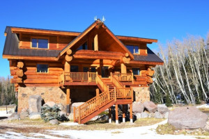 Exterior view of Brian Head Vacation Rentals.
