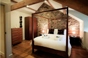 The Hay Barn - 2-bedroom residences at Natural Retreats Llŷn Peninsula, North Wales.