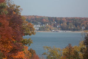 Fall foliage at Waterbury Inn Condominium Resort.