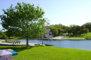 Beautiful Lake View at Stablewood Springs Resort