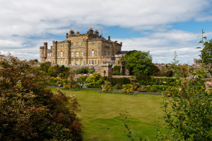 Exterior view of Culzean Castle.