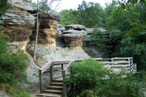 Garden of Gods near Shawnee Forest Cabins.