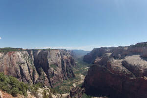 Zion Canyon near Best Western Coral Hills.