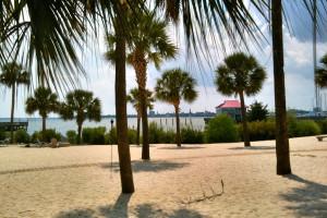 Beautiful Beaches at  Charleston Harbor Resort
