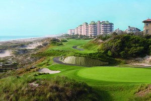 Golf course at Omni Amelia Island Plantation.