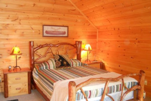 Guest Room at the White Lake Lodges