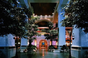 Exterior view of Grand Hyatt Erawan.