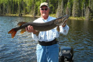 Northern Pike Fishing at Canada North Lodge