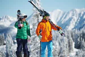 Skiing at The Lodge At Vail.