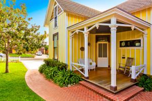 Cottage exterior at Seabreeze Vacation Rentals, LLC.