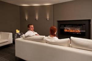 Spa lounge at Solara Resort & Spa.