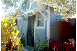 Exterior view of Andrea's Hidden Cottage.