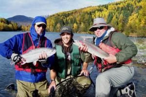 Fishing at Great Alaska Adventure Lodge.