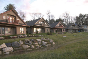 Cabins at Sheepscot Harbour Village & Resort.