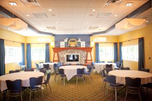 Meeting room at Bay Pointe Inn Lakefront Resort.