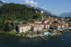 Exterior view of Grand Hotel Villa Serbelloni.