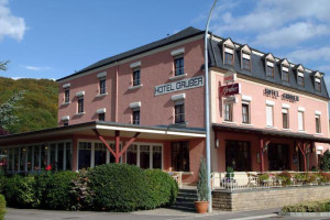 Exterior view of Hotel Gruber.