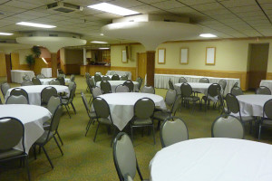 Conference room at Jorgenson's Inn & Suites.