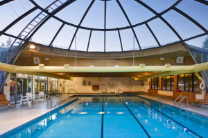 Indoor pool at Park Place Hotel.
