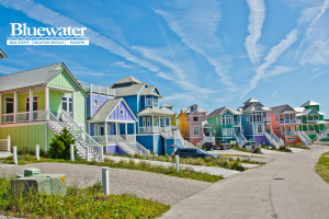 Rental exterior at Bluewater Real Estate.