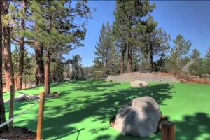 Mini golf at The Ridge Resorts.